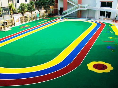 幼儿园地面处理,幼儿园地坪,幼儿园地面,运动场地坪