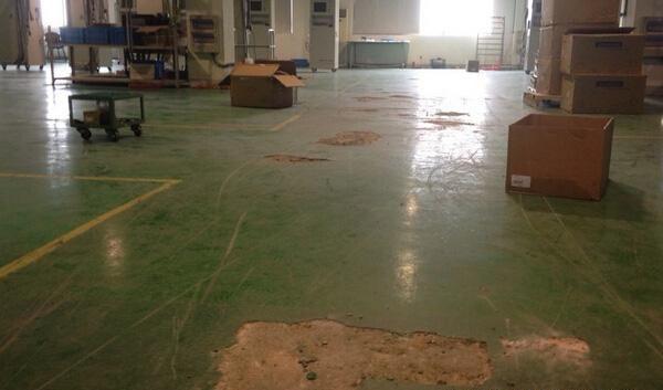 旧环氧面处理,环氧旧地坪如何翻新维修